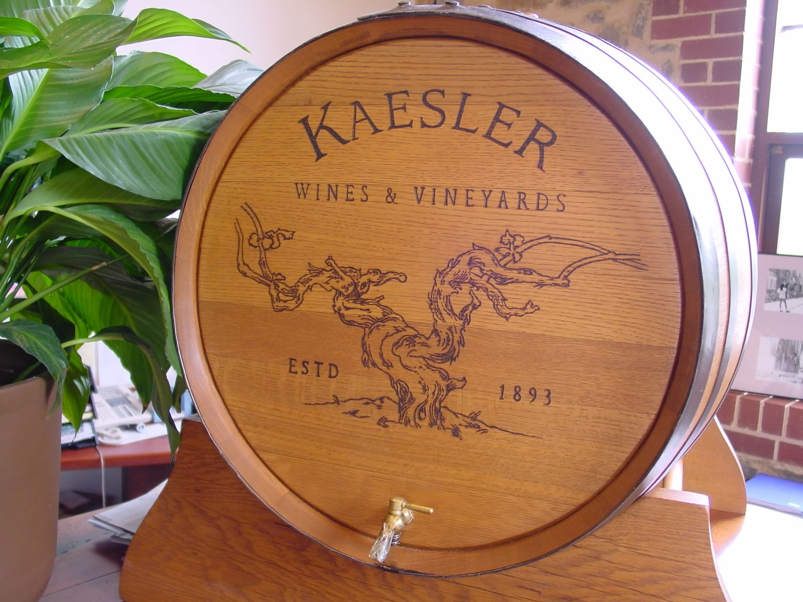 Kaesler Wine Drum